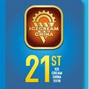 Ice Cream China 2018