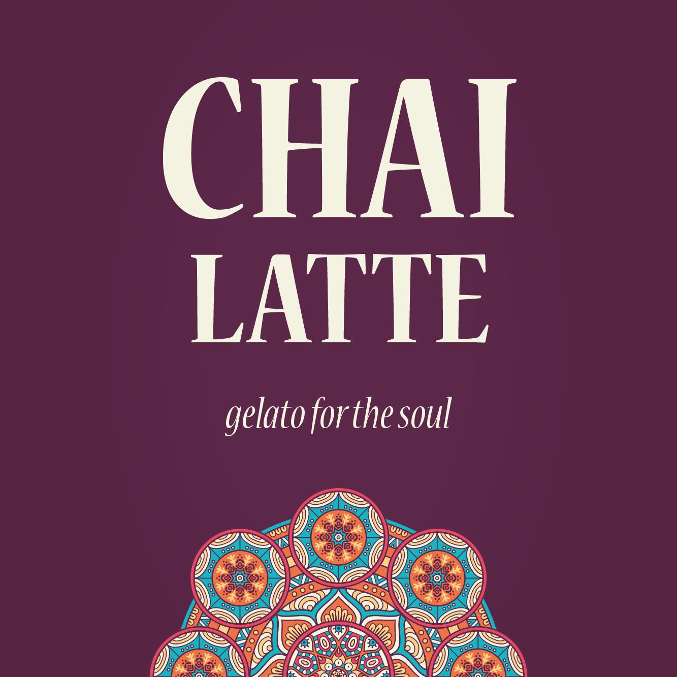 Chai Latte - gelato for the soul