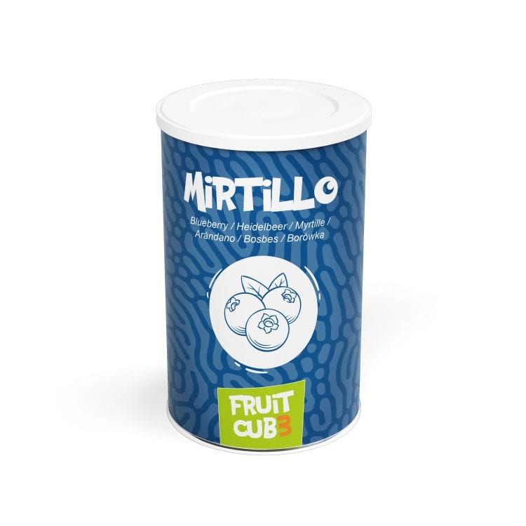 Fruitcub3 Mirtillo
