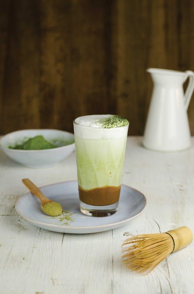 Iced Latte Caramello e te matcha