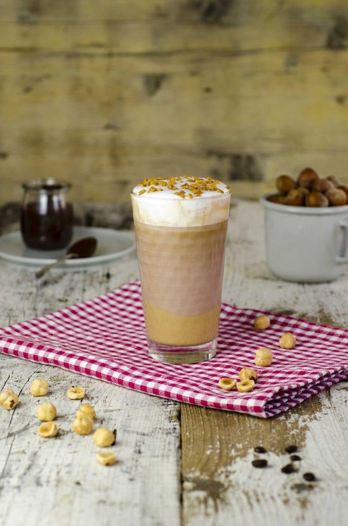Iced Latte Cioccolatoso alla Nocciola